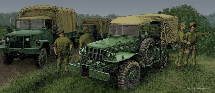 Dodge WC-52 - #illustration, #digitalillustration - dannybriggs | ello