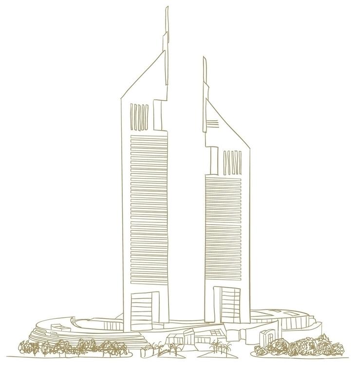 Jumeirah Emirates Towers - illustration - mp-1845   ello