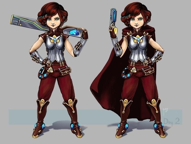 Alchemist - characterdesign, conceptart - tieller | ello
