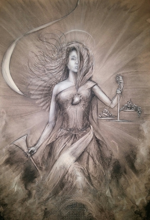judgement, illustration, drawing - sterlingvanderhoof | ello