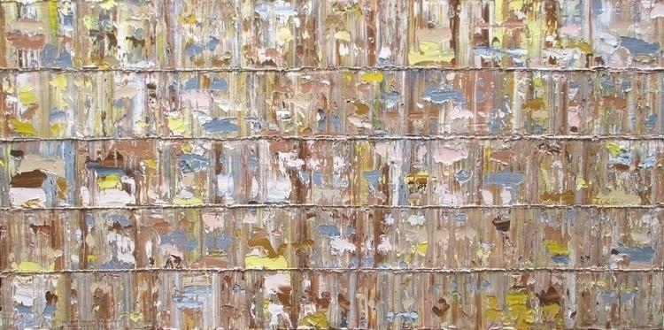 Mayreau, Oil canvas 84 164 3 cm - rinushofman | ello