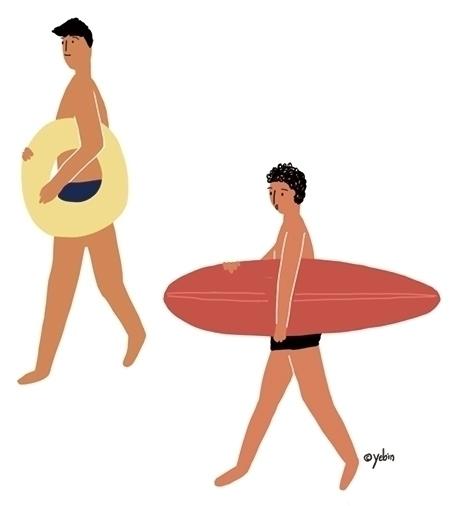 Season_Summer - illustration, painting - yebin   ello