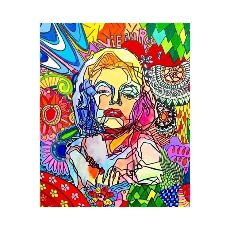 Icon - painting, drawing, artwork - kikuchiori   ello