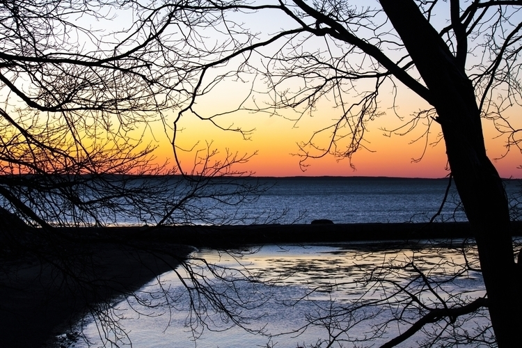 Rockland Maine, Breakwater Sunr - mnisbett | ello