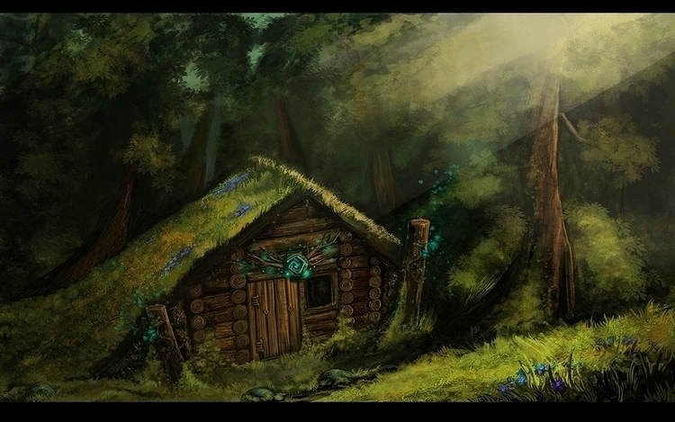 Cabin - environment, cabin, shamanic - tieller | ello
