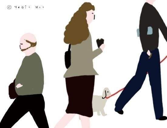 worker - illustration - yebin | ello
