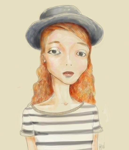 Ginger - illustration, painting - seren-1097 | ello
