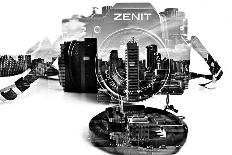 zenit, photography, blackandwhite - vitoriamagalhaesp | ello