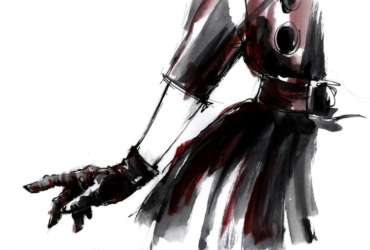 illustration, painting, sketch - annagosteva | ello