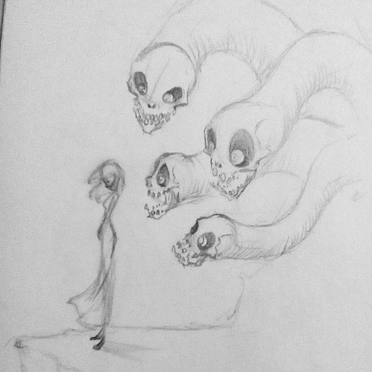sketches - hasaniwalker | ello