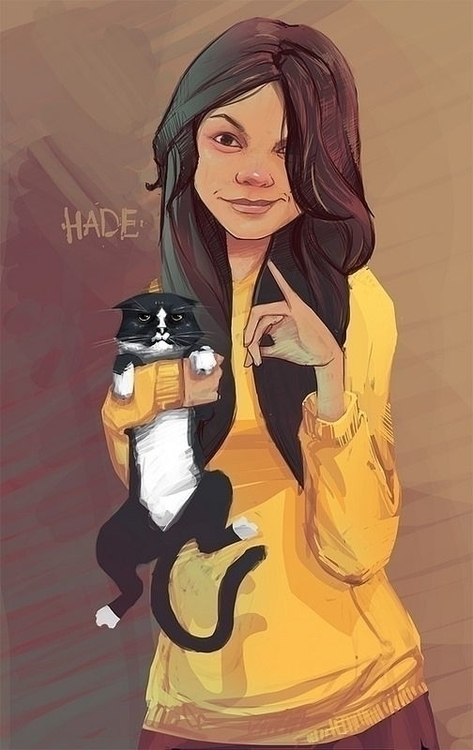 illustration, painting, characterdesign - aleksandrhade   ello