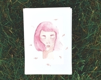 Pink - illustration, painting, characterdesign - bizarreamie | ello