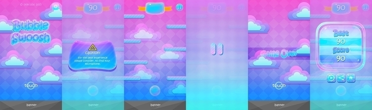 Bubble Swoosh Game Interface As - jantoko | ello