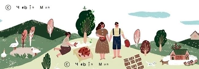 'Red Pepper Paste' package illu - yebin | ello