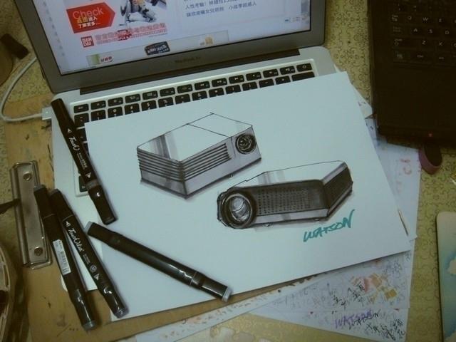 illustration, marker, rendering - watsonlai | ello