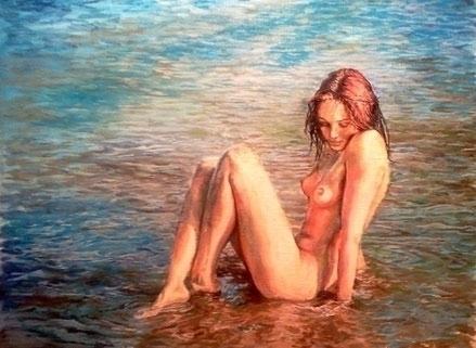 Dissolution - painting - marryana | ello
