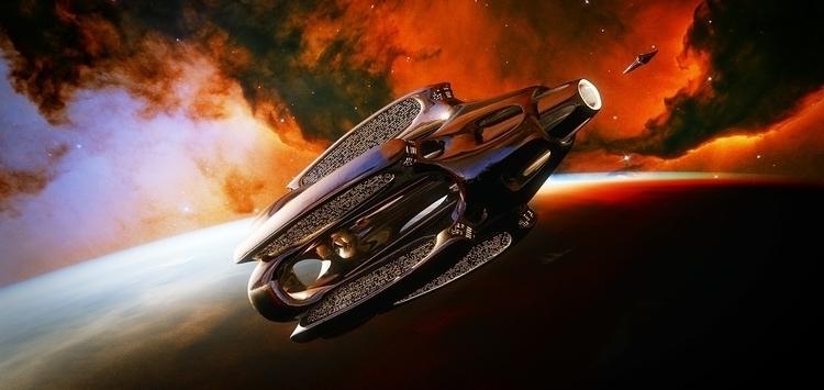 Space cruiser - sci-fi, sciencefiction - valdeklaur-8775 | ello