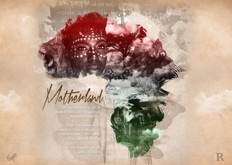 Motherland - digitalart, africa - rhayvencoats | ello