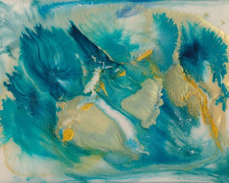 Wild Ride - painting, acrylicpainting - douglasfischerfineart | ello