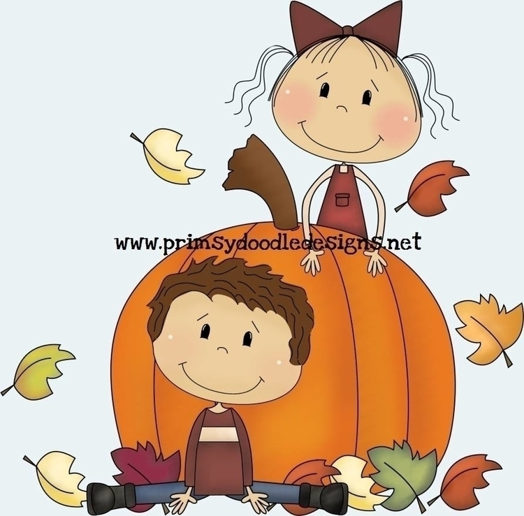 Fall Kids - illustration - lisacraig | ello