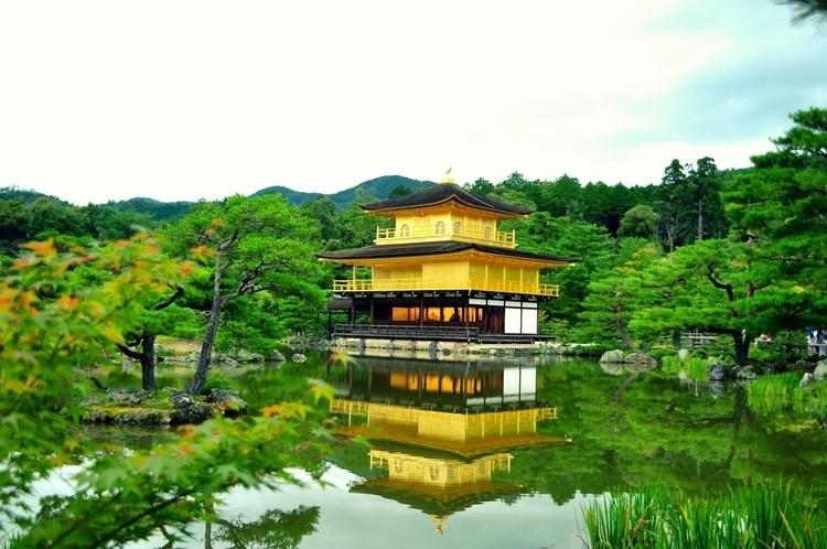 Kinkaku-ji Golden Pavilion - erikaliveta - erikaliveta | ello