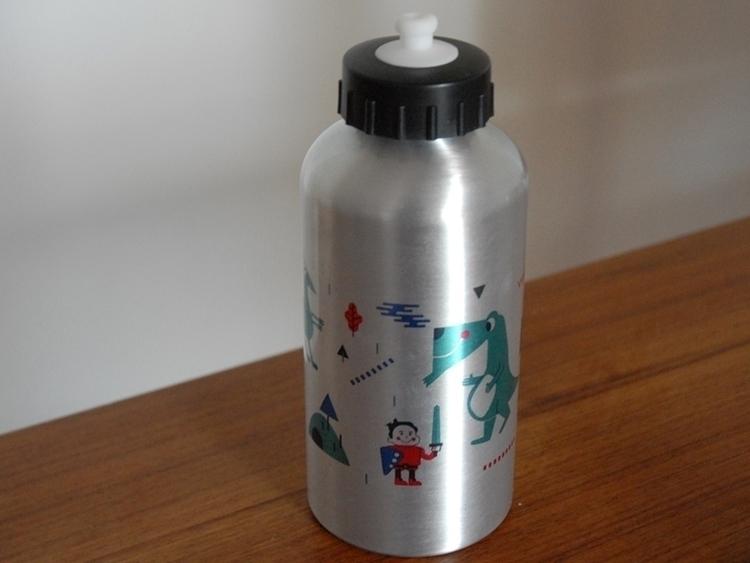 bottle dragons - dragon, illustration - schnuppe   ello