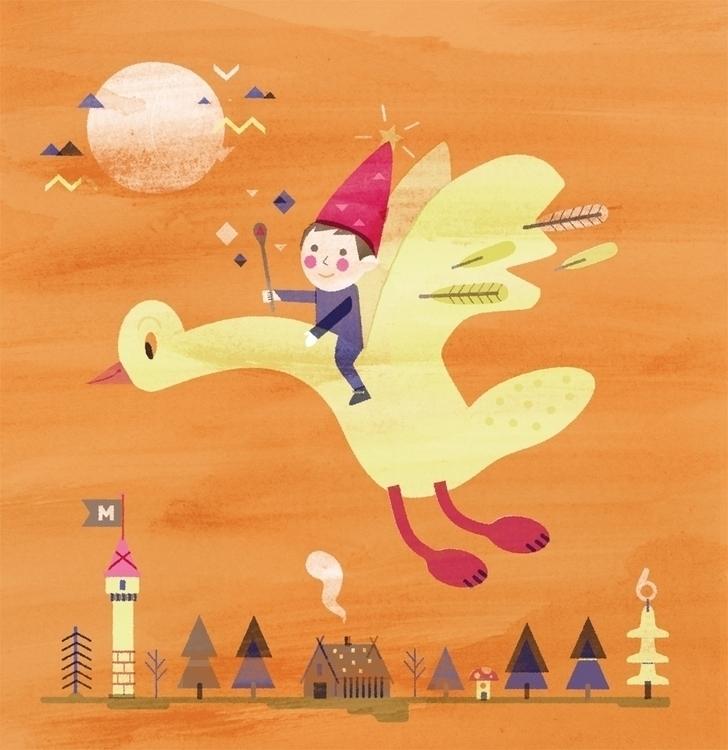 birthday card - il, children'sillustration - schnuppe | ello