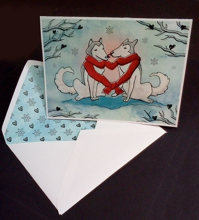 Illustrated Valentine Card matc - sillustrations | ello