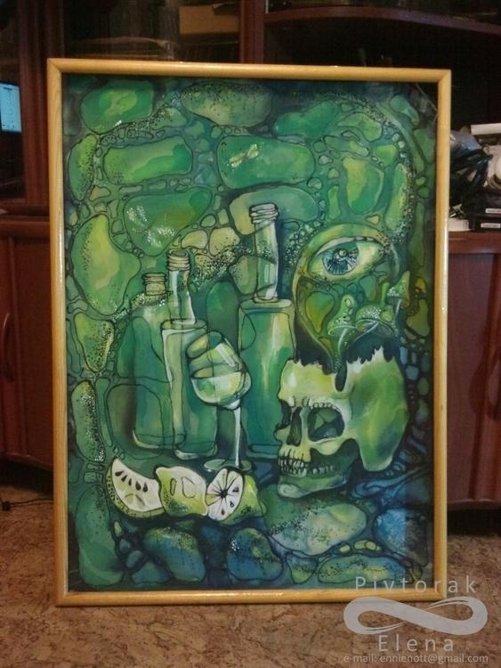 painting, fabricart - victorovna | ello