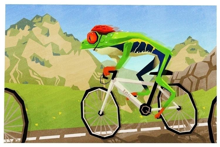 Leaf Green - illustration, colourcollective - gemmagould | ello