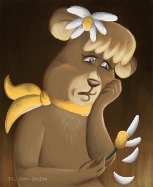 today Cindy Bear. love-interest - jellysoupstudios | ello