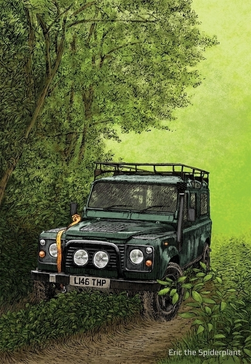 Land Rover Billing - 4x4, landrover - dannybriggs | ello