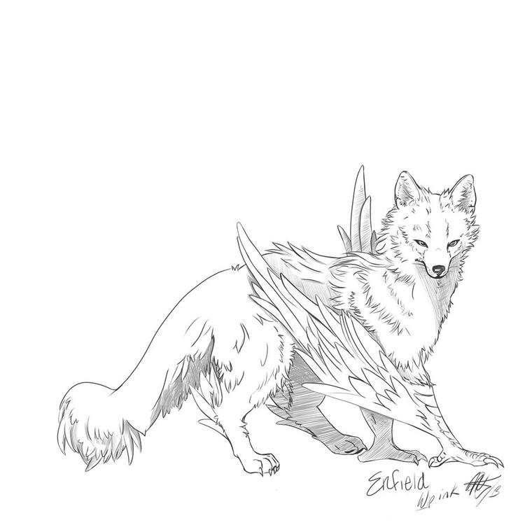 Enfield Inks 2013 - illustration - wolfypaints | ello