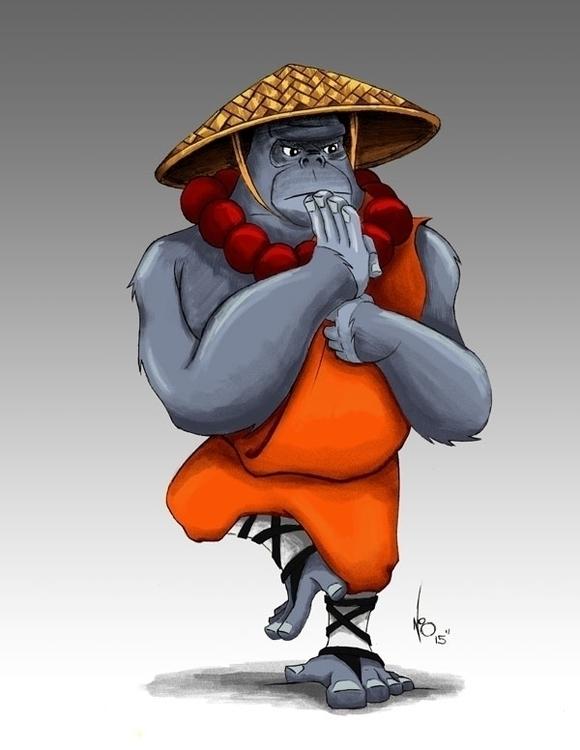 Shaolin Gorilla Bak Mei Gung Fu - nisu1710 | ello