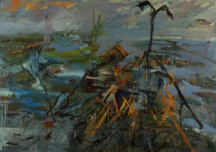 Battle Svea Geats - painting - bosborn   ello