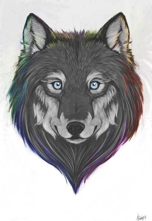Wolfypaints 2014 - illustration - wolfypaints   ello
