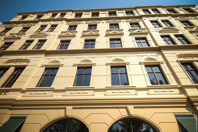 Berlin Fassade Study - 3d, rendering - 3dworks | ello