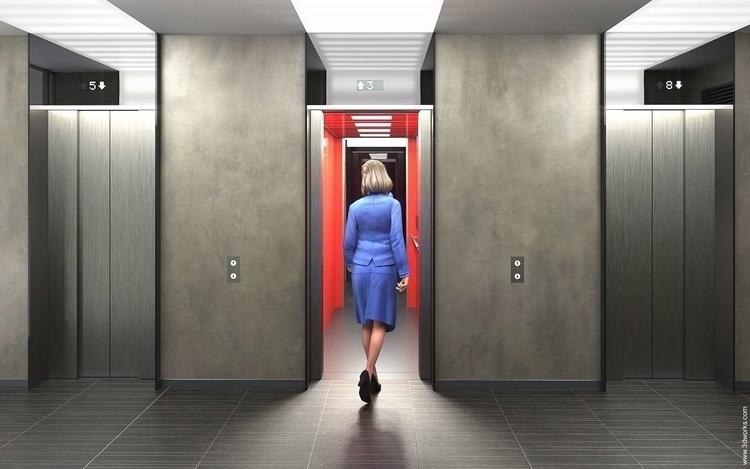 Office Interior - 3d, architecturalvisualisation - 3dworks | ello