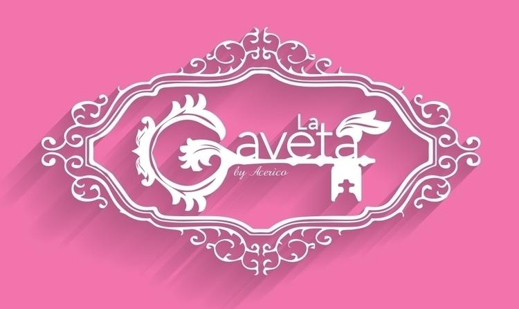 La Gaveta - logo, logodesign, logotype - mauriciofreeze | ello