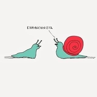 Exhibitionist - exhibitionist, snail - bhmideas | ello