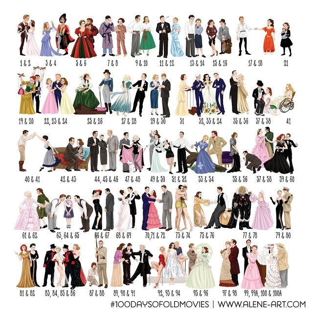 100 Days Movies: image - illustration - aleneart   ello