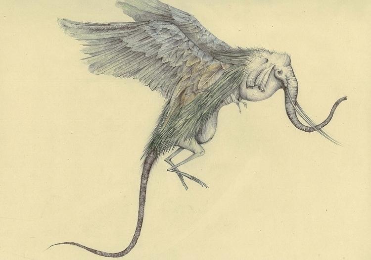 illustration, creature, elephant - stetocefalo | ello