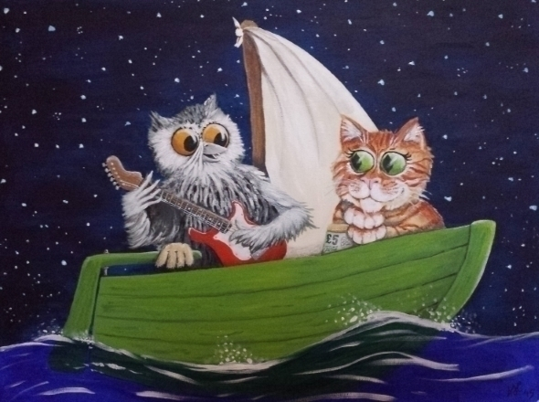 Owl Pussycat - alexcrump | ello
