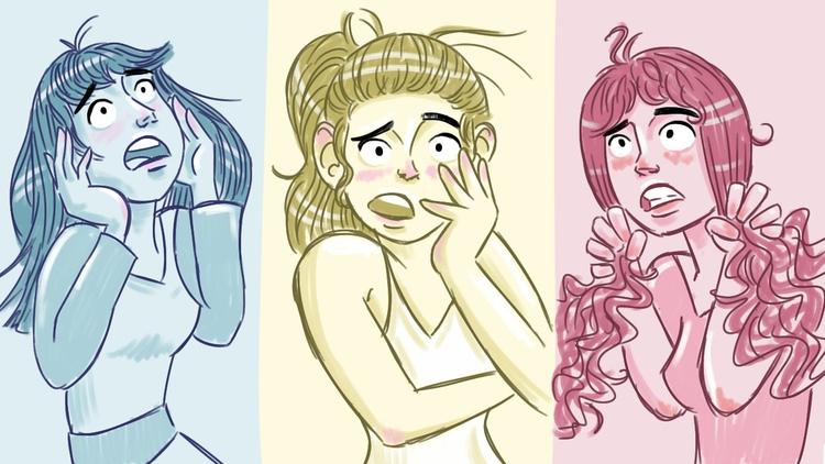 shock, girls, trio - thisjustine | ello