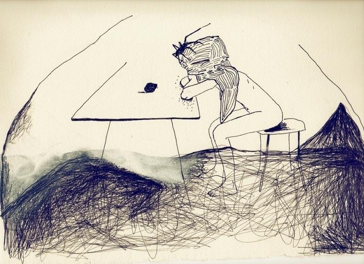 illustration - unselvaggioemezzo   ello