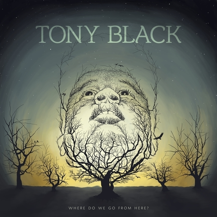 Tony Black Album Cover, Digital - steffenremter | ello