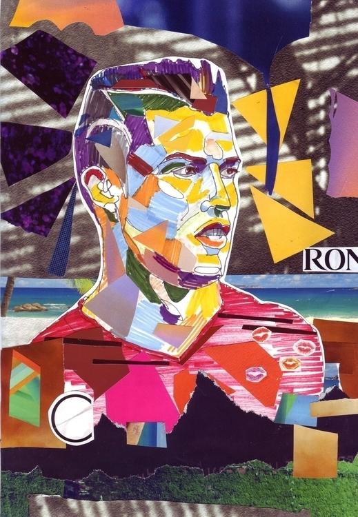 Cristiano Ronaldo collage - cristianoronaldo - gretaberlin | ello