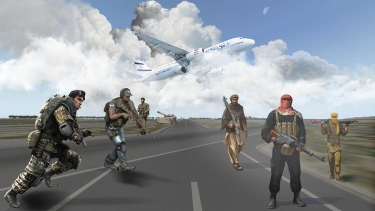 EL AL ISRAELI AIRLINES 011 - characterdesign - golaniyehuda | ello