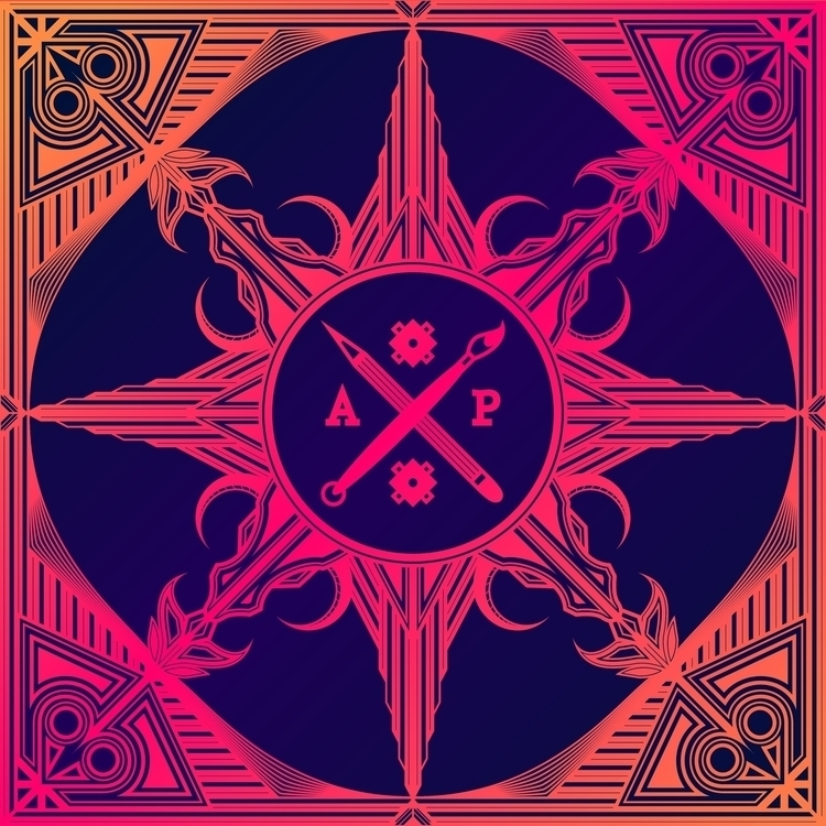 ArtyP 2015 - hot, red, pink, logo - artyp | ello