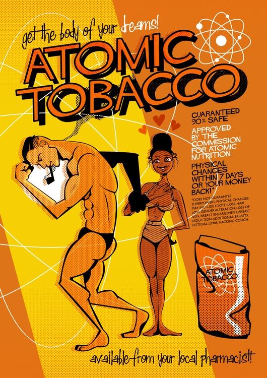 Atomic Tobacco – illustration,  - giantlobster-9039 | ello